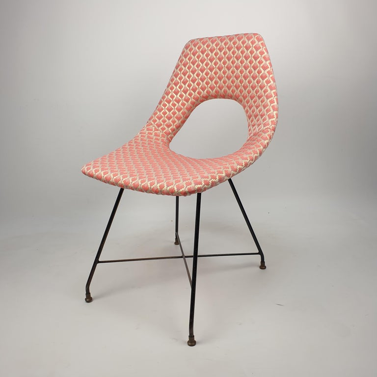 Cosmos Dining Chair by Augusto Bozzi for Saporiti Italia, 1950s For Sale 4