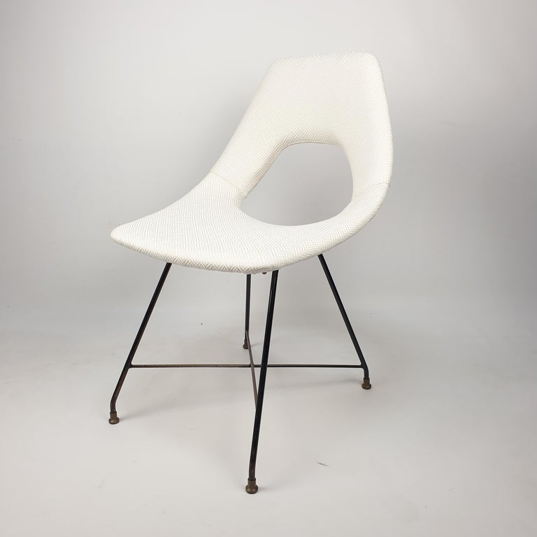 Cosmos Dining Chair by Augusto Bozzi for Saporiti Italia, 1950s For Sale 5