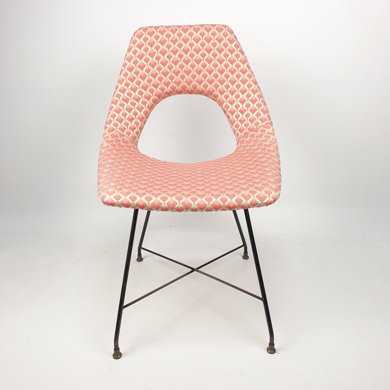 Mid-Century Modern Cosmos Dining Chair by Augusto Bozzi for Saporiti Italia, 1950s For Sale