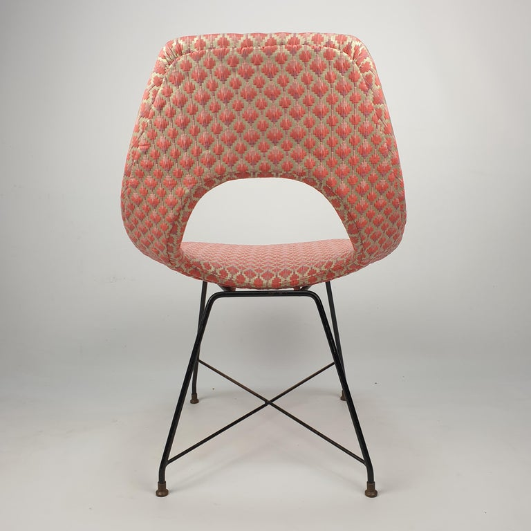 Mid-20th Century Cosmos Dining Chair by Augusto Bozzi for Saporiti Italia, 1950s For Sale