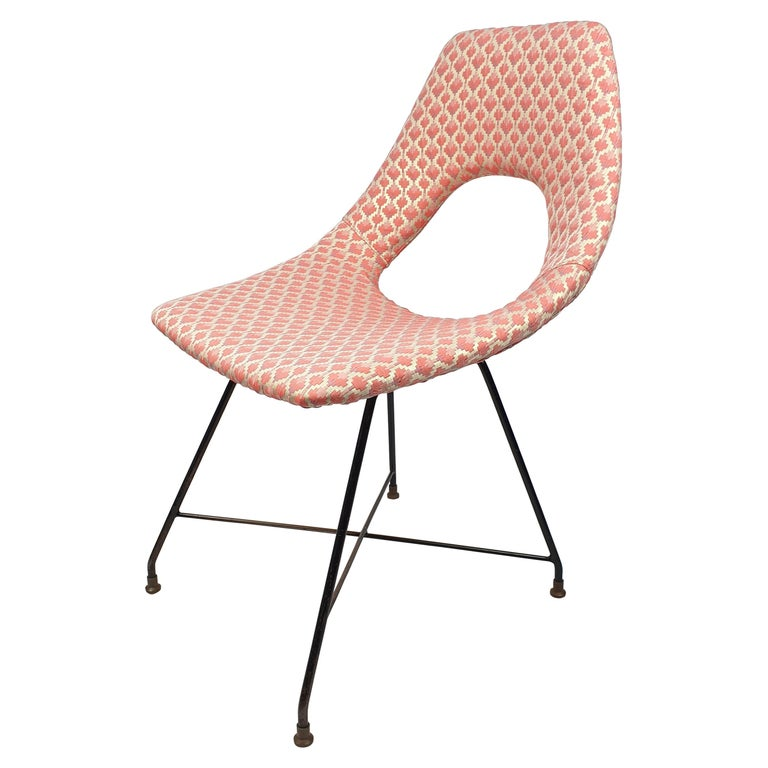 Cosmos Dining Chair by Augusto Bozzi for Saporiti Italia, 1950s For Sale