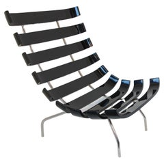 Costela Style Lounge Black Chair
