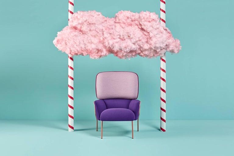 Iron Cotton Armchair, Eli Gutiérrez For Sale
