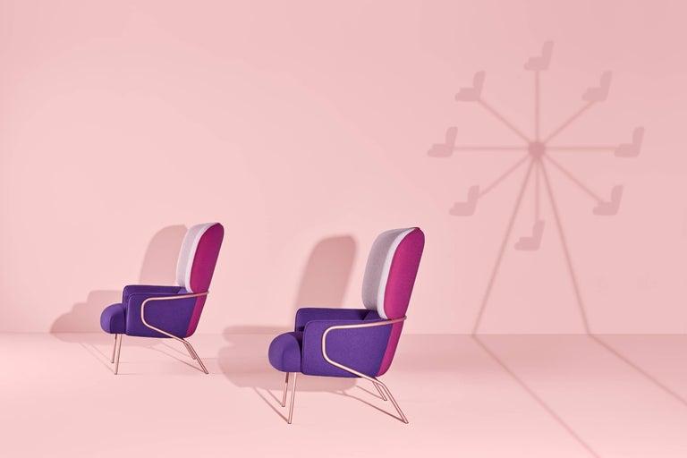 Cotton Armchair, Eli Gutiérrez For Sale 2