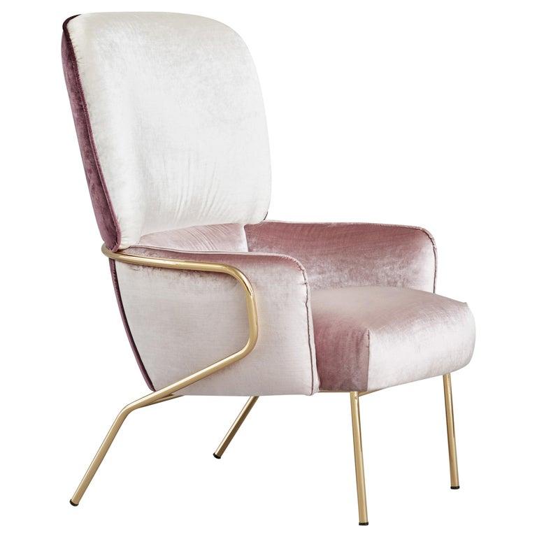 Cotton Armchair, Eli Gutiérrez For Sale