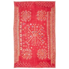 Cotton Embroidery from Rajasthan, India, Early 20th Century