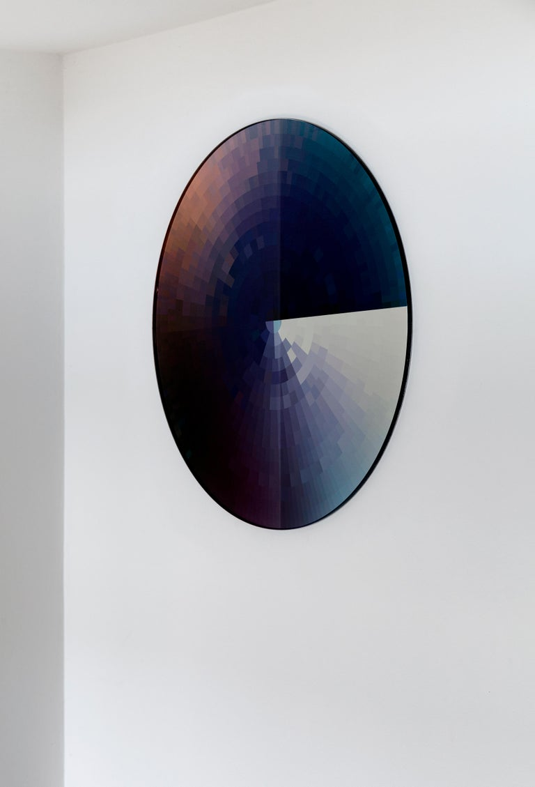 Minimalist Coulour Swatch Mirror by Rive Roshan For Sale