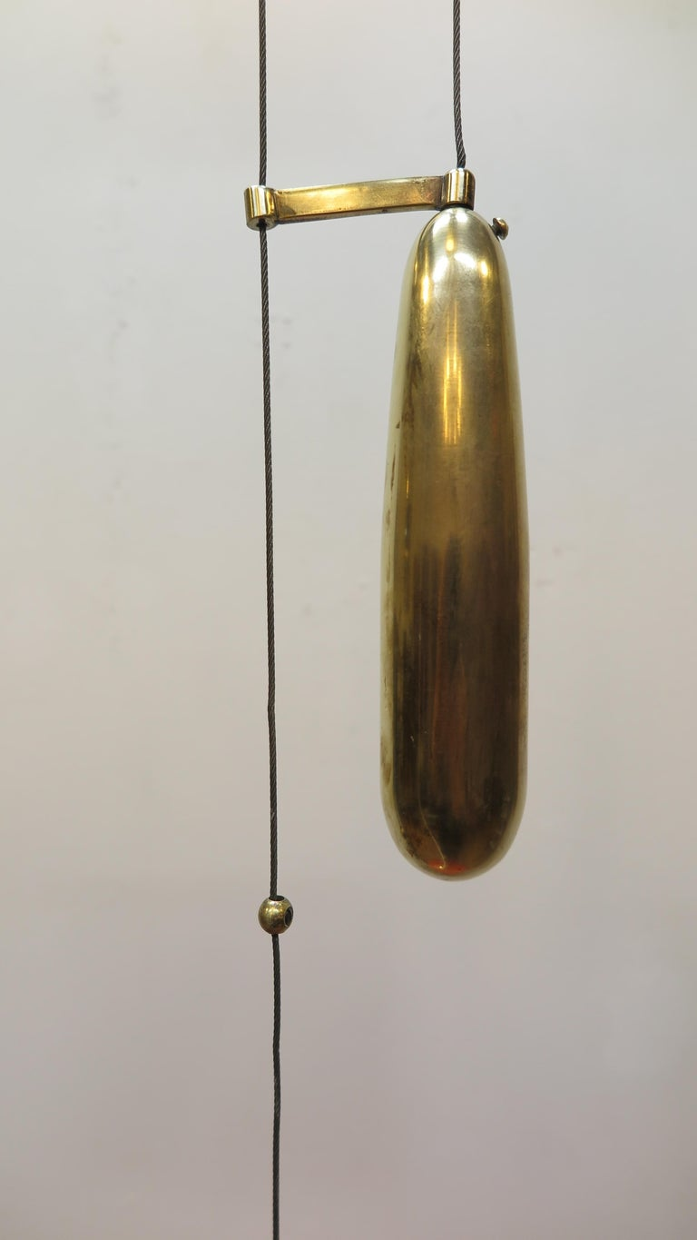 Counter Balance Pendant Lamp Paavo Tynell In Good Condition For Sale In New York, NY