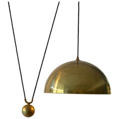 Counterbalance Brass Pendant 'Posa' Side Weight by Florian Schulz