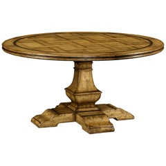 Country Chestnut Round Dining Table