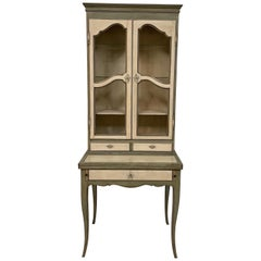 Country French Cabinet / Secretary by Baker