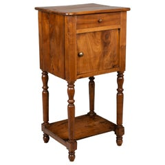 Country French Cherry Side Table or Nightstand