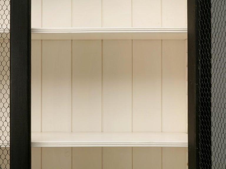 Country French Directoire Style Bookcase Handmade in Any Dimension or Color In New Condition For Sale In Chicago, IL