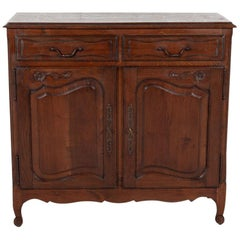 Country French Louis XV Style Buffet d'Appui