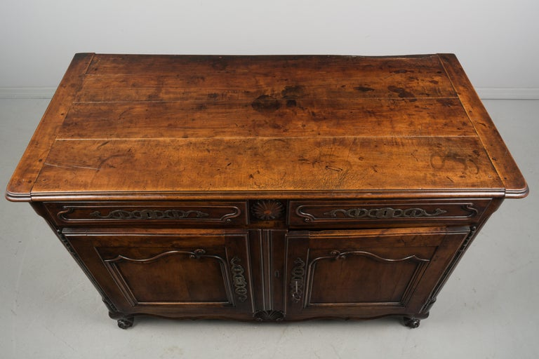 Country French Louis XV Style Buffet or Sideboard For Sale 1