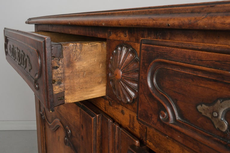 Country French Louis XV Style Buffet or Sideboard For Sale 2