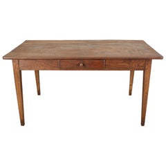 Country French Painted Pine Farmhouse Dining Table