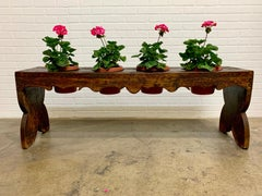 Country French Potting Bench