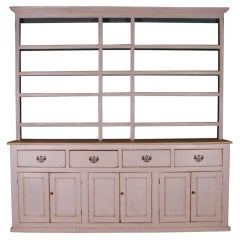 Country House Dresser with Rack