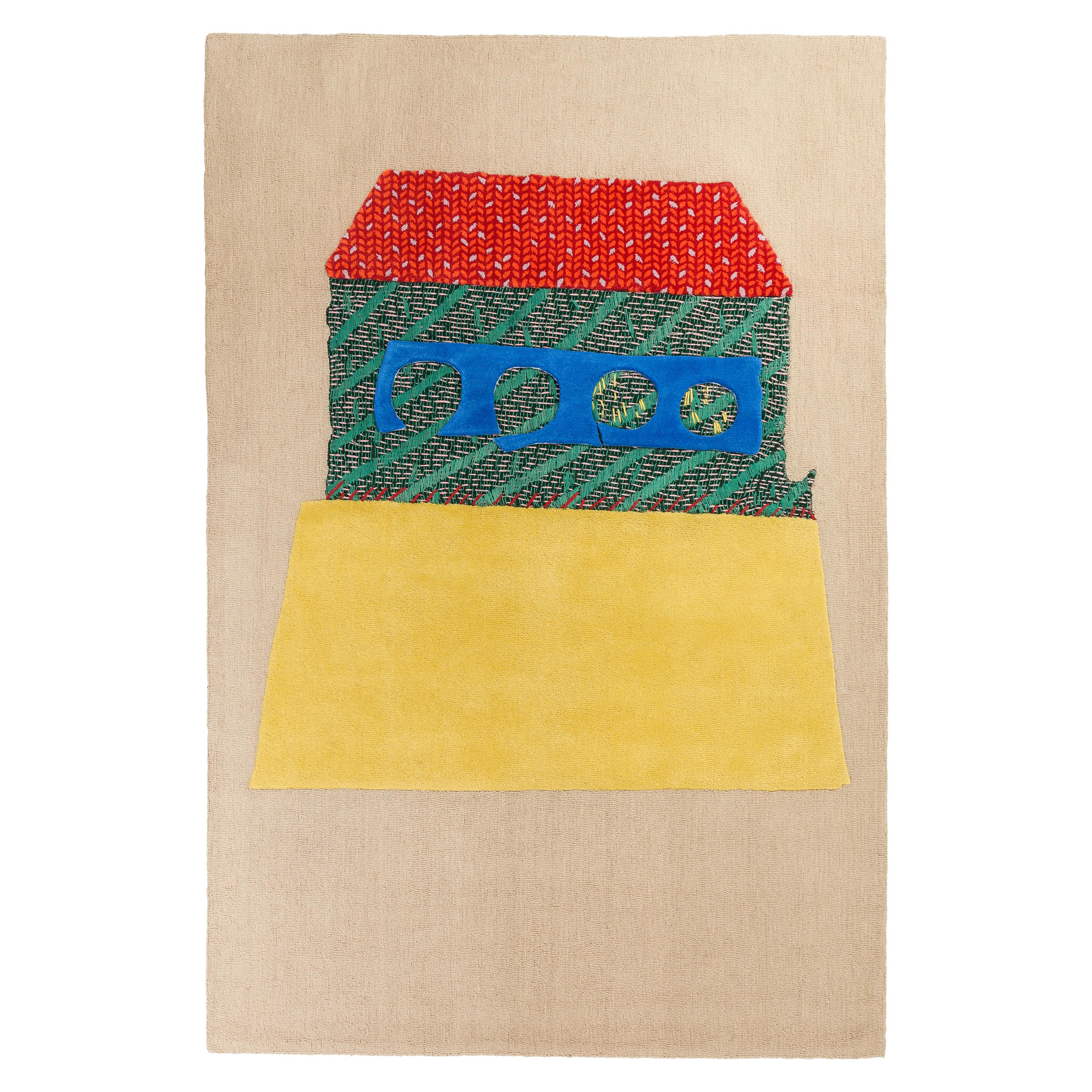 Country House, Handtufted and Knitted, Wool, Kiki van Eijk