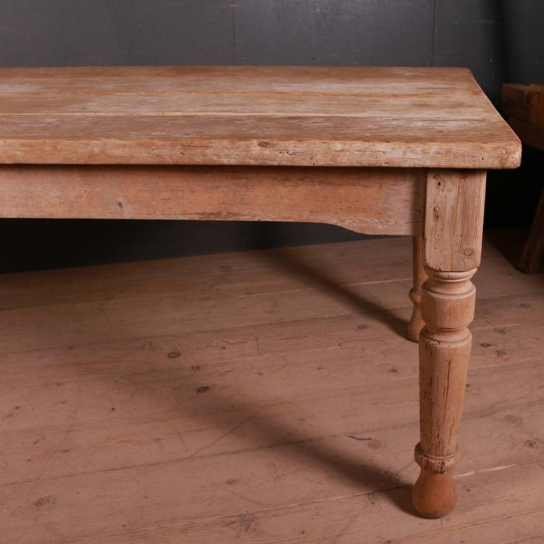 Victorian Country House Kitchen Table For Sale