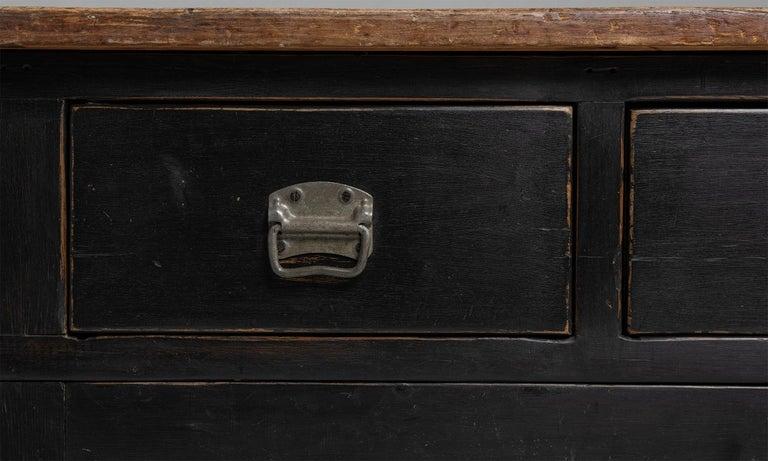 Beech Country House Prep Table, England, circa 1890 For Sale