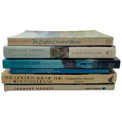 Country Houses Cottages Stables International Design Decor Collection, 6 Books