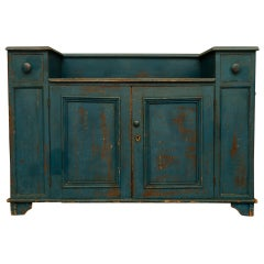 Country Sideboard in Brilliant Blue