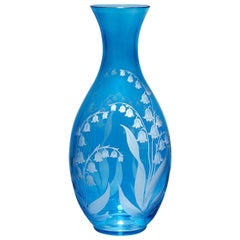 Country Style Crystal Glass Carafe Blue Sofina Boutique Kitzbühel
