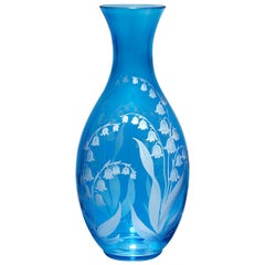 Country Style German Crystal Carafe Blue Sofina Boutique Kitzbuehel