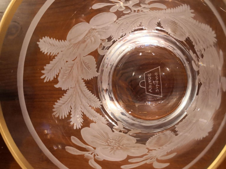Country Style German Hand Blown Crystal Latern  Sofina Boutique Kitzbühel In New Condition For Sale In Kitzbuhel, AT