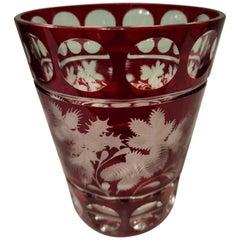 Country Style Hand Blown Crystal Vase Xmas Decor Sofina Boutique Kitzbühel