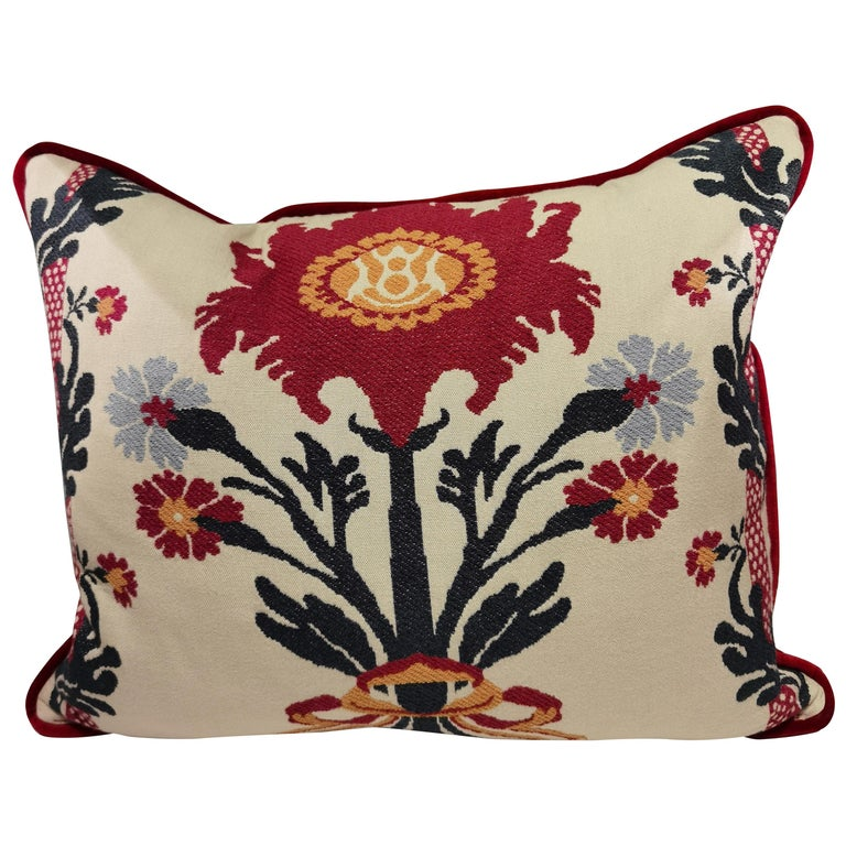 Country Style Handmade Cushion Sofina Boutique Kitzbuehel For Sale