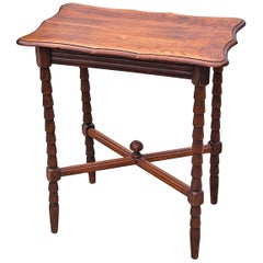 Country Style Side Table, Early 20th Century