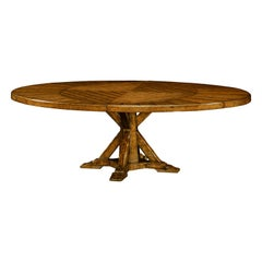 Country Walnut Extension Table