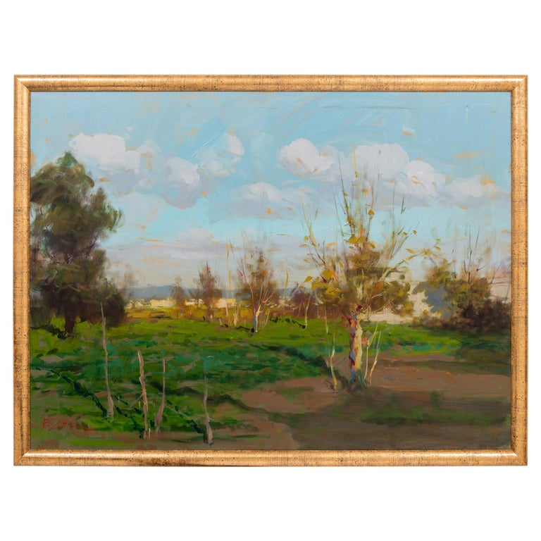 """""""Countryside"""" Italian Painting For Sale"""