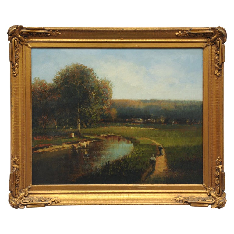 Countryside Landscape Painting by Roy Purdy