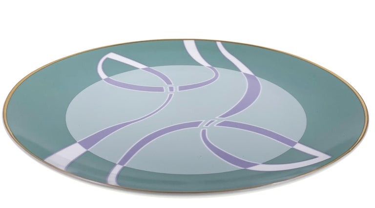 Modern Coupe Charger Mid Century Rhythm André Fu Living Tableware New For Sale