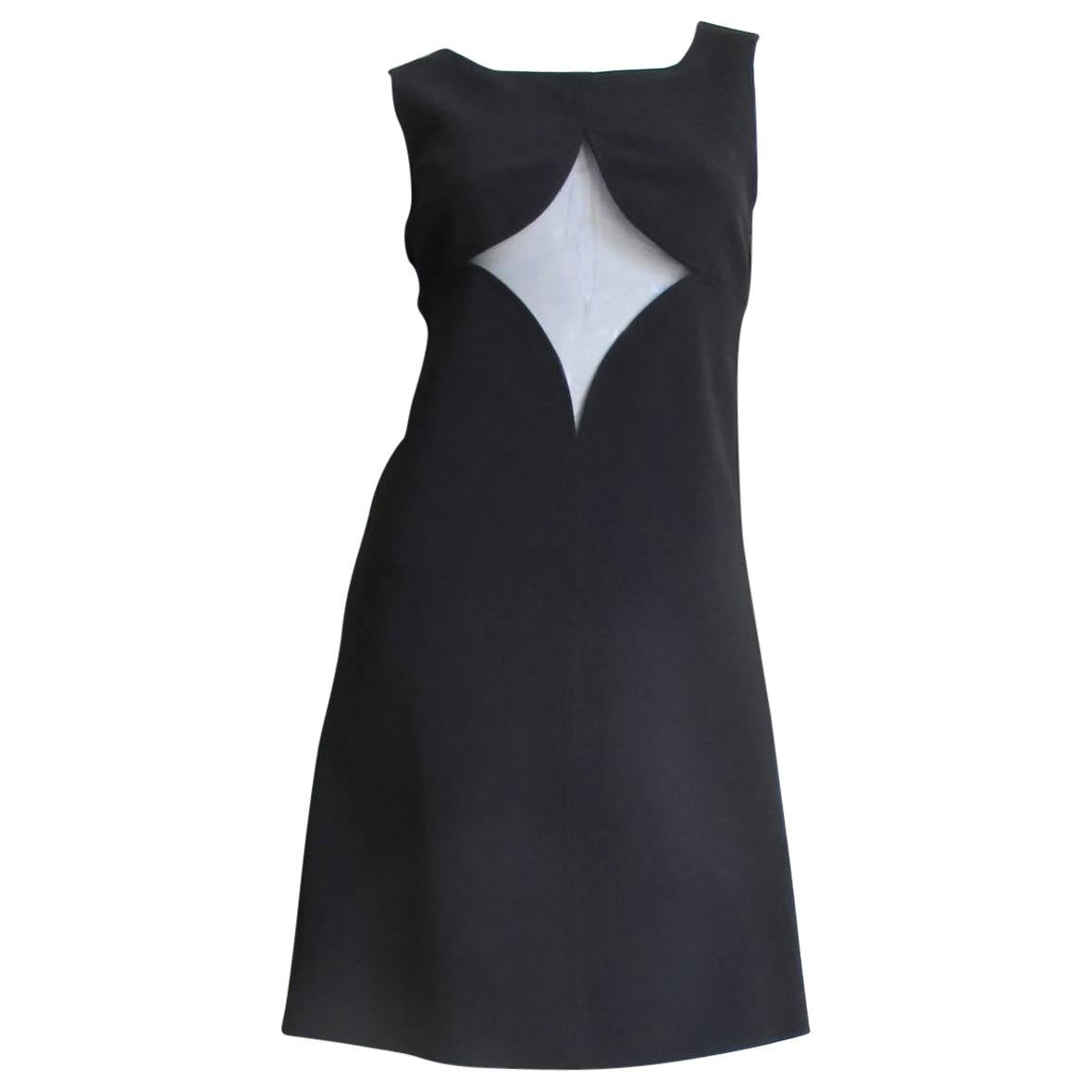 Courreges 1960s Dress with Cut outs