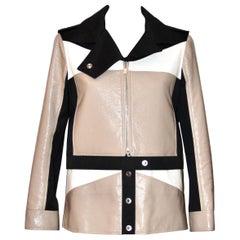 Courreges Cotton and Vinyl Jacket