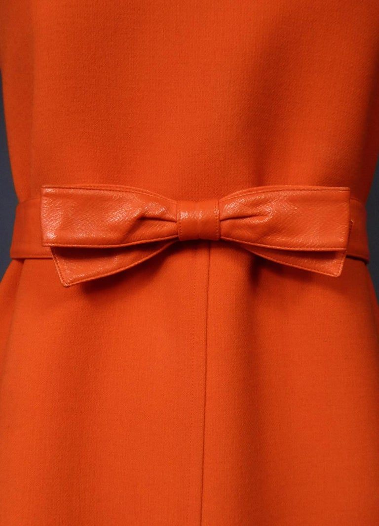 Women's Courrèges Couture Future Dress numbered 0045426 Circa 1970/1972 For Sale