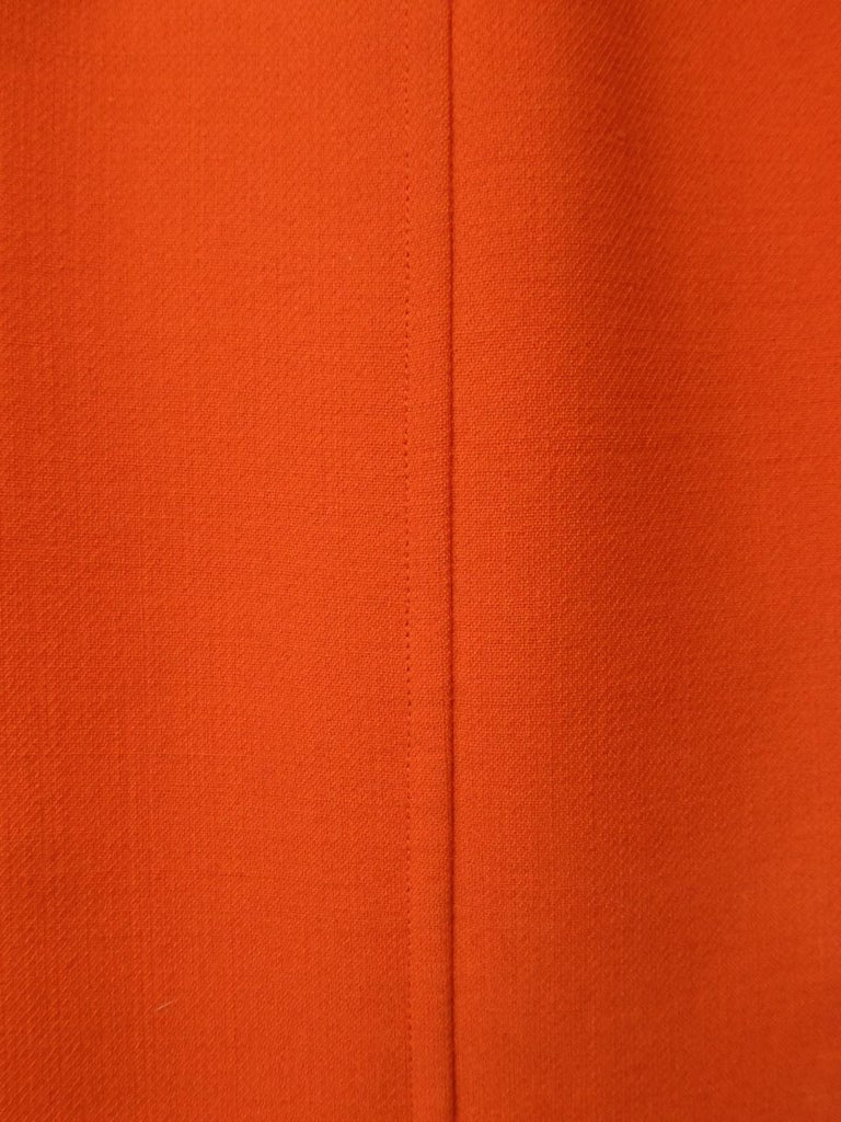 Courrèges Couture Future Dress numbered 0045426 Circa 1970/1972 For Sale 1