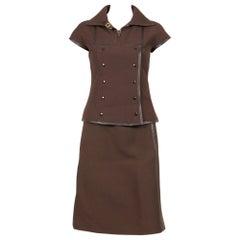 Courrèges Couture Future Suit, 1960s