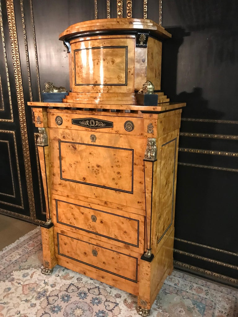 French Courtly Secretaire in the Empire Style For Sale
