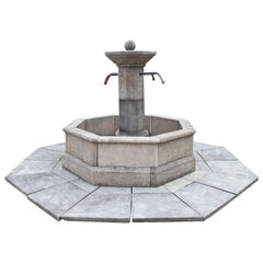 Courtyard Fountain with Baseplate, 21st Century