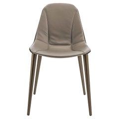 Couture Metal-Legged Chair by Stefano Bigi