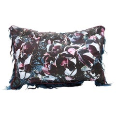 "Couture Vandertol Studio ""Passages"" Magnolia Silk Pillow"