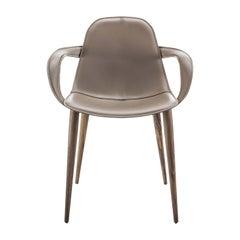 Couture Wooden-Legged Chair by Stefano Bigi