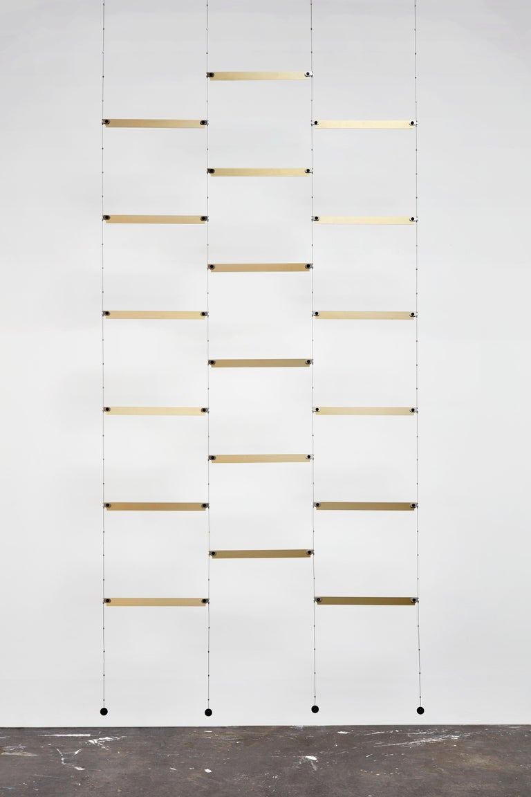 Aluminum Cover Curtain, a Room Separator/Bookshelf, Room Decoration by Vantot For Sale