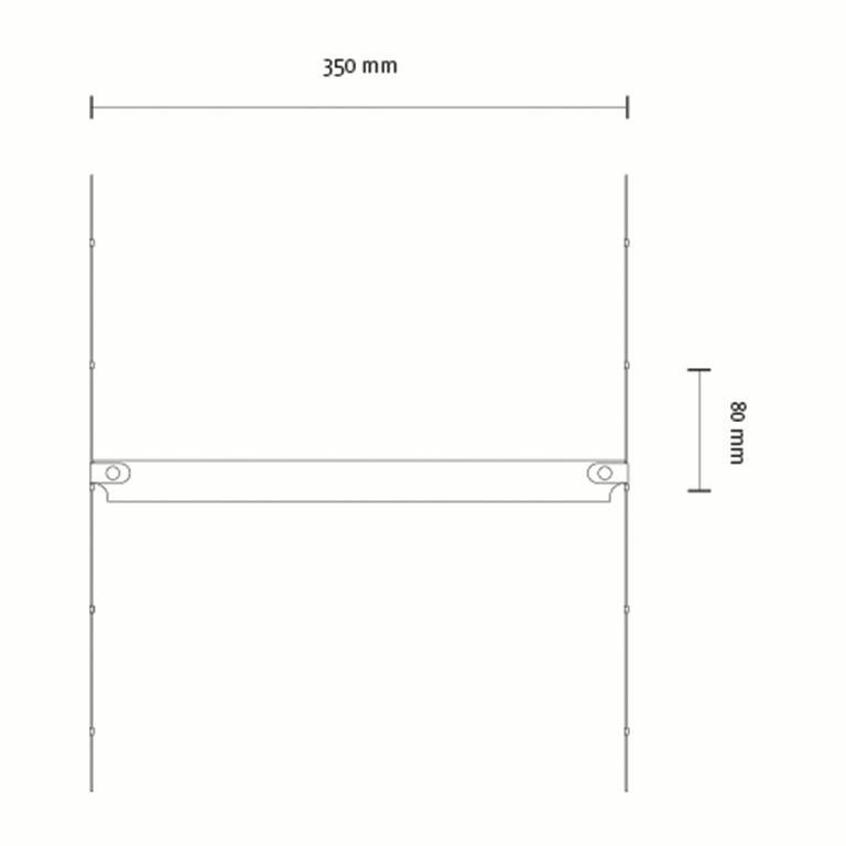 Cover Curtain, a Room Separator/Bookshelf, Room Decoration by Vantot For Sale 2